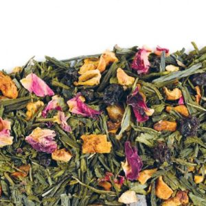 Зелёный чай с добавками